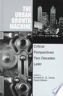 The Urban Growth Machine