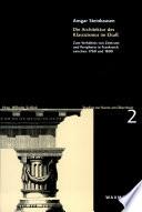 Die Architektur des Klassizismus im Elsaß