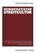 Demokratische Streitkultur