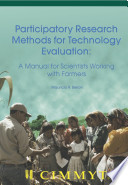 Participatory research methods for technology evaluation  A manual for scientists working with farmers