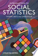 Introduction to Social Statistics