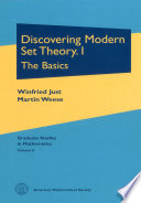 Discovering Modern Set Theory  The basics