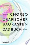 Choreografischer Baukasten  Das Buch