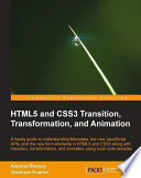 HTML5 and CSS3 Transition  Transformation  and Animation
