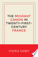 The Migrant Canon in Twenty First Century France