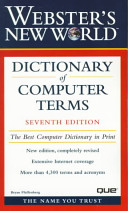 Webster s New World Dictionary of Computer Terms