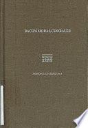 Bach s Modal Chorales