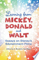 Learning from Mickey  Donald and Walt