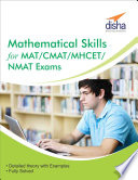 Mathematical Skills for MAT  CMAT  MHCET  NMAT Exams