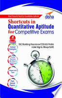 Shortcuts in Quantitative Aptitude for Competitive Exams