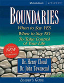 Boundaries Leader s Guide