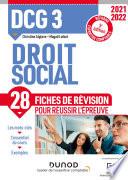 Dcg 3 Droit Social Fiches De R Vision 2021 2022