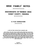 high family notes
