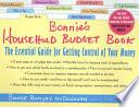 Bonnie s Household Budget Book