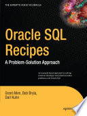 Oracle SQL Recipes