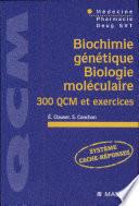 Biochimie génétique, biologie moléculaire