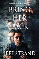 Bring Her Back Pdf/ePub eBook