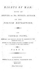 download ebook rights of man: being an answer to mr. burke\'s attack on the french reuolution. by thomas paine ... part 1. \\-second! pdf epub