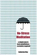Book No Stress Meditation