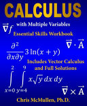 Calculus With Multiple Variables Essential Skills Workbook