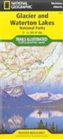 Best Easy Day Hiking Guide and National Geographic Trail Map Bundle  Glacier and Waterton National Parks