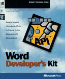 Microsoft Word Developer's Kit