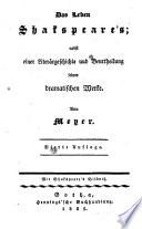 Sämmtliche Schauspiele; frei bearb. von (Mehreren und hrsg. von) Meyer. 4. Aufl. Wohlfeile Taschenausg. mit Kupfern