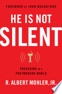 He Is Not Silent : power of the word, from an infatuation with...