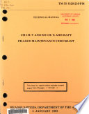 UH 1H V and EH 1H X Aircraft  Phased Maintenance Checklist