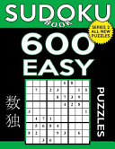 Sudoku Book 600 Easy Puzzles Book PDF