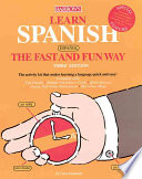 Learn Spanish  Espa  ol  the Fast and Fun Way