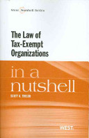 The Law of Tax exempt Organizations in a Nutshell