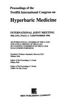 Proceedings of the Twelfth International Congress on Hyperbaric Medicine