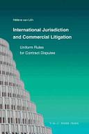 International Jurisdiction and Commercial Litigation