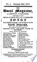The Vocal Magazine