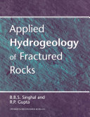 Applied Hydrogeology of Fractured Rocks Book