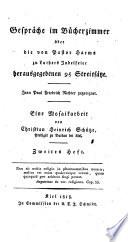 Gespräche im Bücherzimmer über die von Pastor Harms zu Luthers Jubelfeier herausgegebenen 95 Streitsätze