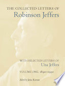 an analysis of the literary works of robinson jeffers Literary criticism, california literature, western american literature, robinson jeffers analysis of robinson jeffers'strategies in recreating medea.