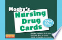 Mosby s Nursing Drug Cards