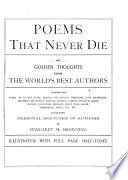 Poems that Never Die