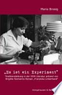 """""""Es ist ein Experiment"""""""
