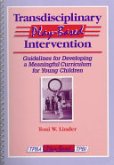 Transdisciplinary Play based Intervention