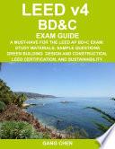 Leed V4 Bd C Exam Guide