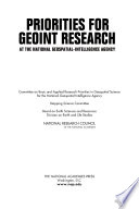 Priorities for GEOINT Research at the National Geospatial Intelligence Agency