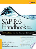Sap R 3 Handbook Third Edition