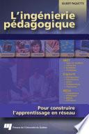 illustration du livre L'ingénierie pédagogique