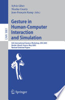 Gesture in Human Computer Interaction and Simulation