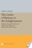 The Limits Of Reform In The Enlightenment book