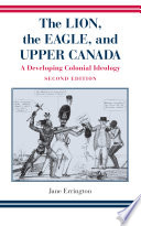 Ebook Lion, The Eagle, and Upper Canada, Second Edition Epub Jane Errington Apps Read Mobile