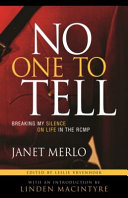 No One to Tell Book PDF